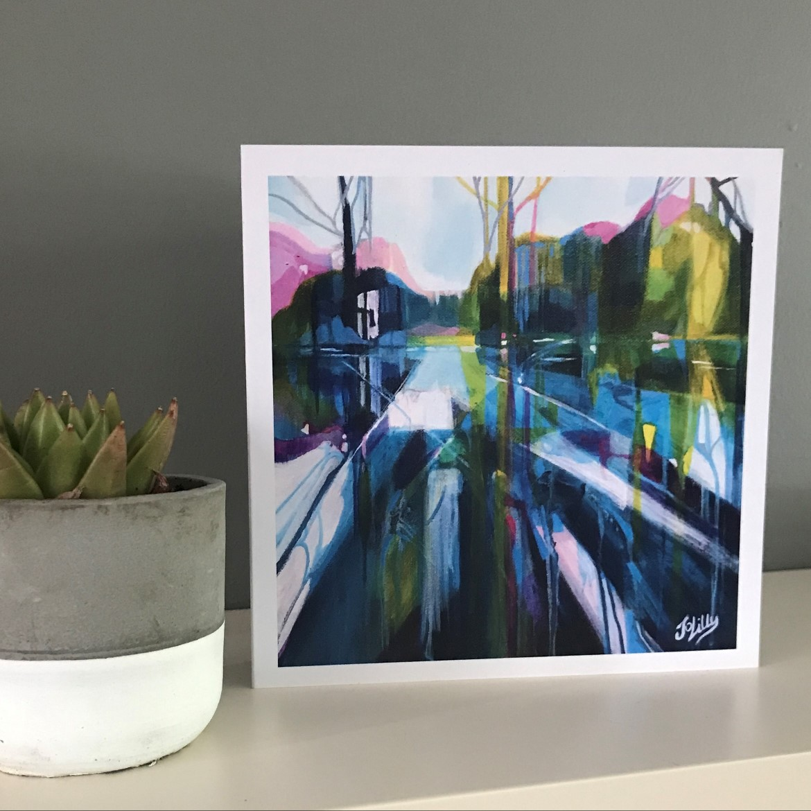 Reflect Greetings Card/Notelet